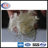 Fibra concreta della fibra di graffetta di Polyacrylontrile della vaschetta per materiale da costruzione