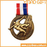 Kundenspezifische Firmenzeichen-Goldmedaille für Andenken-Geschenke (YB-MD-40)