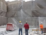 Il collegare della strumentazione della cava ha veduto la macchina per il taglio di Granite&Marble