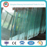 vidrio de flotador ultra claro inferior del hierro de 15m m