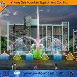 تكنولوجيا الوسائط المتعدّدة لون موسيقى مختلفة ماء نوع نافورة متغيّر