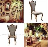 椅子を食事する贅沢なデザインステンレス鋼ファブリック宴会