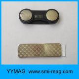 Étiquette nommée magnétique d'aimants d'insigne nommé de Magnetics