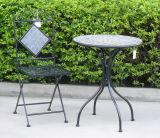Cadeira preta útil do vintage de Unfoldable