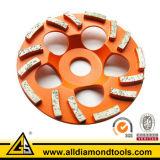 Roda de moedura do copo do diamante especial de Desingned para o concreto