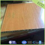 Grano di legno e comitato di alluminio rivestito del favo di PVDF