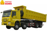 Camion à benne basculante diesel de HOWO 8X4 30m3 12-Wheel