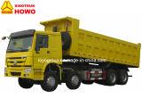 販売のためのSinotruk HOWOのダンプトラック8X4のダンプカー