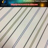 Ткань полиэфира, ткань Twill нашивки, выравнивая ткань, ткань одежды (S78.135)