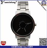 Pulso novo do relógio das mulheres do Mens da cinta de couro da forma dos relógios de quartzo de Paidu das vendas da promoção do projeto Yxl-357
