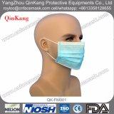 Wegwerfchirurgische Gesichtsmaske des vliesstoff-3ply für medizinisches Krankenhaus