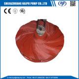Doublure de Volute de garniture intérieure de doublure de dos de pompe de pièces d'extrémité de Weted de pompe de boue d'OEM