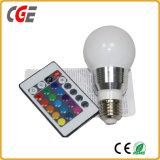 Lampadina chiara astuta di musica LED Bluetooth della lampada di E27 RGB