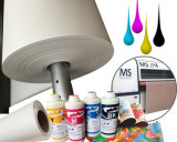 "Papier de sublimation à colorant largeur 100GSM 126 ""pour textiles"