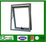 Finestra appesa superiore di alluminio standard As2047|Finestra di alluminio poco costosa Pnoc0002thw della tenda