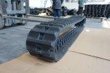 Exkavator 450X100 spürt Gummispur auf