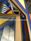 Окно Casement термально пролома алюминиевое с сетью москита