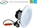 UL cUL ES 12W 트라이액 6 인치 Dimmable LED Downlight SMD2825