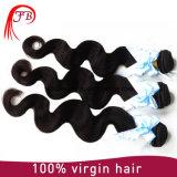 100%年のバージンのRemyブラジルボディ波の人間の毛髪のよこ糸