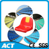 Soccer Stadium Chair, Plastic Injection Molded Stadium Seat, Plastic Bucket Seat Stadium Seating for Stadium, Arena, Escola