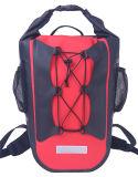 sacs secs imperméables à l'eau campants de sac à dos de sports de PVC de 50L 500d (YKY7302)