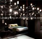 Candelabro grande simples de Haning Hotal da árvore moderna da iluminação da decoração do diodo emissor de luz