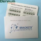 端の方のDenrumの工場歯科矯正学の網ベース標準ブラケット