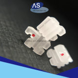 Parentesi di ceramica delle parentesi della base di ceramica ortodontica delle scanalature come-Orthodinoics