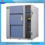 Kamer van de Test van de Thermische Schok van de Testende Apparatuur van de Verandering van de temperatuur de Snelle