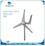 turbina di vento orizzontale delle lamierine di asse tre del generatore a magnete permanente 200With300With400W