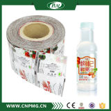 Étiquette craintive de chemise de PVC pour la bouteille d'eau potable
