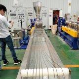 Plastiktablette, die Maschinen-Zeile bildet