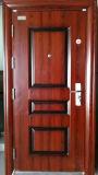 Puerta de acero del cobre del metal de Haojun China, puerta de acero exterior
