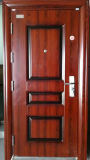 Porte en acier d'en cuivre en métal de Haojun Chine, porte en acier extérieure