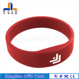 Wristband colorido impermeable del silicón RFID para las bibliotecas de enfriamiento