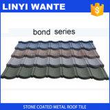 La pietra scheggia le mattonelle di tetto rivestite del metallo di zinco di alluminio