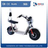 Moto électrique de grandes roues du pneu deux Harley de scooter puissant de la batterie au lithium 60V grosse