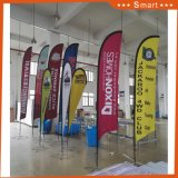 Polyester Feather Flag Utilisation promotionnelle Publicité Flag Banner