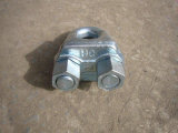 GB Standardstahldrahtseil-Klipp-Typ a, Edelstahl, formbares Eisen