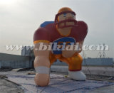 Het reuze Opblaasbare Beeldverhaal ModelK2097 van de Voetbalster