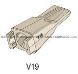 構築はバケツの歯V19に用具を使う