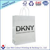Bolsa de papel impresa aduana reciclable de Kraft de la alta calidad