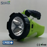 새로운 5W 크리 사람 LED 토치 재충전용 밤 수색자