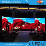 Alquiler P3.91 P4.81 color de interior Pantalla LED para Adverting