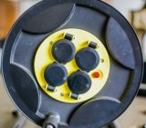 Bobine escamotable automatique fixée au mur de tuyaux d'air, bobine de boyau de l'eau, bobine de boyau de jardin