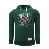 Изготовленный на заказ способ Hoodies ватки хлопка людей резвится одежда пуловера верхняя (AL020)