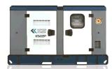 Tipo gerador Diesel Ks22p do motor de Kipor/Knox do controle de Dse do alternador de Kipor