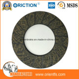 Cara de embrague de la fricción de la alta calidad y guarnición de embrague materiales