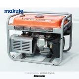 스위치 (GE-2500)를 가진 5.5HP 220V/380V 휴대용 가솔린 또는 휘발유 발전기