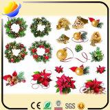 Encadenamiento dominante del estilo caliente 2017 y del metal encantador del PVC de la Navidad y encadenamiento dominante hermoso del PVC para el regalo de la Navidad
